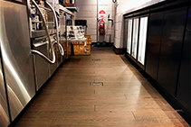 Push-Fit Floor Drains for Kitchens and Bars from ACO