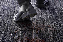 Dust Control 'DC' Carpet Tiles from Nolan Group