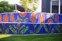 Community Mosaic Projects Using LATICRETE