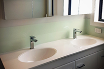 Custom Bathroom Splashbacks from Innovative Splashbacks