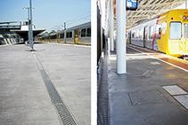 Surface Water & Cable Management of Rail Platforms with ACO