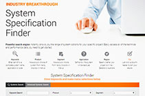Easy Walling Specification with System Specification Finder by AFS