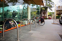 Bicycle Amenities for Commuters from Cora Bike Rack