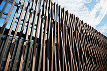 Sustainable Facade Screening for Canberra Metro by Futurewood