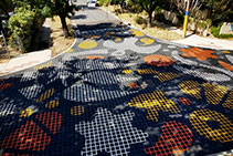 Thermoplastic as Asphalt Inlay - Duratherm by MPS Paving Systems