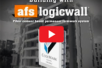 Building with Walling Solutions - Logicwall by AFS