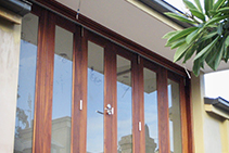 Double-Glazed Timber Bifold Door Upgrade from Wilkins Windows