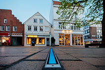 Linear In-Ground Luminaires for Elmshorn by WE-EF