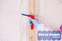 Versi-Foam® Versatile Spray Foam Insulation for Your Attic