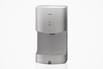 Mini Automatic Hand Dryers in Silver from Verde Solutions