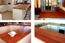 Decorative Glulam Timber Benchtops from DGI
