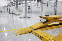 Epoxy Floor for Automotive Workshops by Concrete Surface Coatings