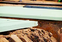 Styroboard® Extruded Polystyrene for Perimeter Insulation from Foamex