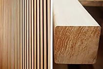 Blackbutt Timber Battens Available from Hazelwood & Hill