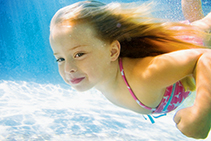 Efficient In-Floor Pool Cleaning System from Waterco