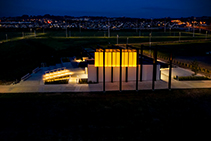 Public Space & Walkway Luminaires for Barry Curtis Park by WE-EF