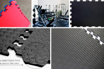 Rubber Gym Floor Protection from Sherwood Enterprises