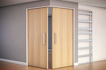 Corner-meeting Cavity Sliding Doors from Tornex