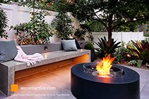 Garden Firepits and Fire Tables from EcoSmart Fire
