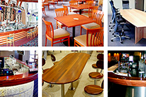 Commercial Interior Timber Furniture & Fixtures by DGI