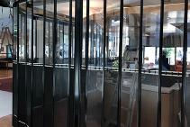 Perforated Folding Doors for Universities from Trellis Door Co