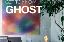 Transparent Free-Standing Fireplaces - Ghost by EcoSmart Fire