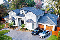 Additives & Adhesives for Award Winning Home by LATICRETE