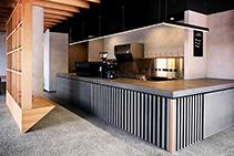 Commercial Interior Venetian Plaster Finishes by Lustre FX
