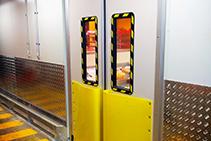 High Impact-resistant Traffic Doors from DMF International