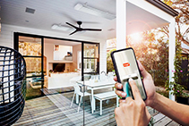 Radiant Outdoor Heaters with Remote Control from HEATSTRIP