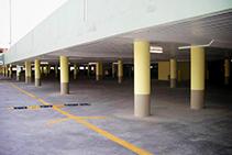 Concrete Columns for Large-Scale Retail Construction by Sonoco