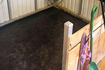 Cushioned Horse Stable Flooring from Sherwood Enterprises