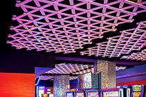 Modular Ceiling Lattice Installation Sydney by Di Emme