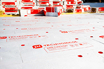 XPS Foam Insulation for Inverted Roofs from Plastek