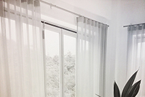 Ultra-quiet Motorised Curtain Tracks - Ti-8040 by TOSO
