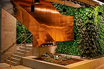 Green Wall Luminaires Purpose-designed by Intralux
