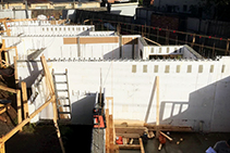 ICF Townhouses Melbourne with Insulbrick ICF