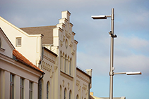 Attractive Lighting Luminaires for Town Square from WE-EF