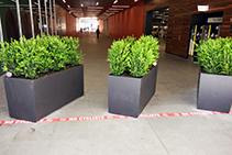 GRC Planter Boxes for DFO South Wharf by Mascot Engineering