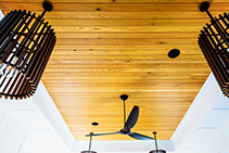 Interior Hardwood Panelling from TIMBECK Architectural