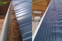 Fire Rated Gutter Guard Melbourne from Leafless
