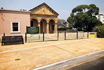 Additives and Sealants for Historic Streetscape from LATICRETE