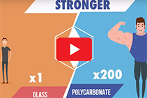 Durable Clear Polycarbonate Vs Glass with Allstar Plastics