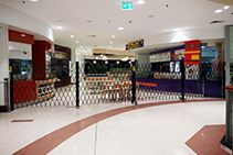 Roll & Folding Security Doors for Food Courts from Trellis Door Co
