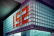 Fire Rated Glass Block Wall System by Obeco Glass Blocks