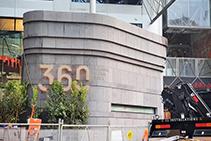 Stone Adhesive for Melbourne Central Facades from LATICRETE