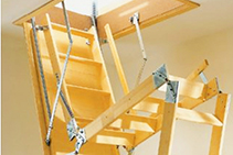 Easy Roof Storage Access with Attic Ladders from Attic Group