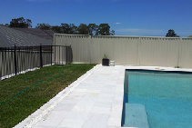 Coconut Ice Quartzite Pavers Sydney from iPave