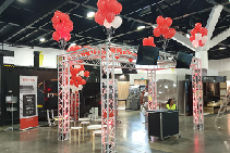Spec-Net Custom Portable Truss On Show by Design Quintessence