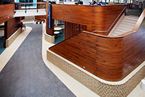 Continuous Interior Timber Panel Systems from Atkar